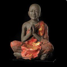 JJ - Corinne CHAUVET Photo Dump, Raku Pottery, Zen Art, Art Plastique, Portrait, Glass Art, Meditation, Clay, Silhouette