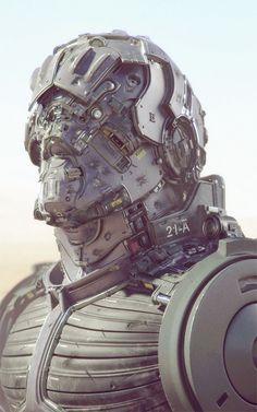 Imaginary Wearable Tech Mech Suit
