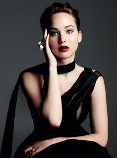 Jennifer Lawrence for Harper's Bazaar UK Photoshoot November 2013
