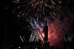 Puente Matute Remus, vista noctura.  Diseño Arq. Miguel Echauri y Arq. Álvaro Morales.  Fotos Carlos Díaz Corona.  www.echaurimorales.com