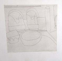 Ben Nicholson: Torcello I Printmaking, Abstract, Prints, Summary, Printing