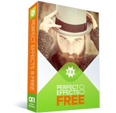 Excellent, free, and easy to use filters for photoshop or standalone use - Perfect Effects 8 Free
