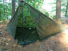 Brooks Range Mountaineering Ultralite Guide+Tarp: First Look - Square Holden Pitch