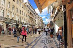 Rua Augusta Lisboa Baixa Chiado Espaços comercias Tapete em calçada