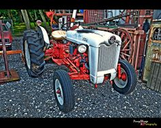 1957 Ford Tractor. 800 Series.