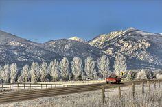 Bitterroot-Valley, Montana ... near Stevensville, MT