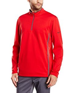 Nike Men's Therma-Fit 1/4 Zip Pull Over #bag http://www.allbodybag.com/nike-mens-therma-fit-14-zip-pull-over/  Nike Men's Therma-Fit 1/4 Zip Pull Over Therma-Fit double knit double pique for ultimate stretch, warmth, and mobility. Traditional 1/2 zip silhouette with mock neck to protect against the elements. Interior nike golf neck tape. Front pockets provide storage and hand warmth. Heat transfer twill swoosh on left sleeve. Brushed fleece interior provides warmth and coverage. 100%..
