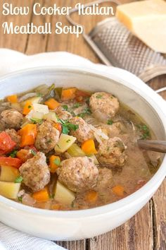 Italian Meatball Sou