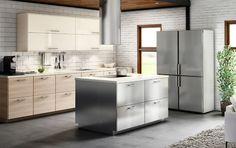 Resultado de imagen de ikea brokhult kitchen