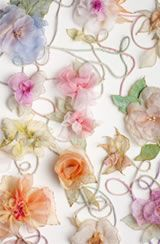 I like the range of embroidered flowers, the different choice of flower and colours. It has a relation to colours seen on my dress. I like the idea of having these flowers gathered together to create a choker. Free Motion Embroidery, Modern Embroidery, Embroidery Stitches, Hand Embroidery, Cloth Paper Scissors, Photography Illustration, 3 Arts, Textile Artists, Embroidered Flowers