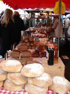 French Market outdoor bakery in Lille, France Paris Travel, France Travel, Salami And Cheese, Travel Deals, Travel Destinations, Daily Bread, Lunches And Dinners, Farmers Market, Street Food
