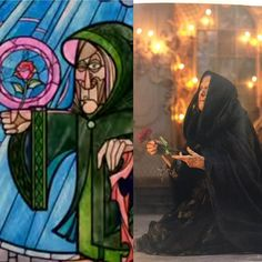 Took a look at the pictorial novel version for Live Action Beauty and the Beast, titled The Enchantment, which costs $5.99 at #Target and was very much captivated by this image of the Enchantress in the form of the Old Beggar Woman. Such outstanding costume and set design. The Live Action version for the Old Beggar Woman was gorgeously translated. Simply amazing. #disney, #waltdisneystudios, #disneyprincess, #mrspotts, #beourguest, #batb, #belle, #cogsworth, #beast…