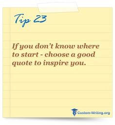 #college #essay #writing tip #motivation If you don't know where to start - choose a good quote to inspire you. college admission essay help, college essay helper, help writing college essay, type my essay, custom essay review Custom Essay Writing Service, Paper Writing Service, Essay Writing Tips, Essay Writer, Custom Writing, Good Essay, Academic Writing, Writing Services, Best College Essays