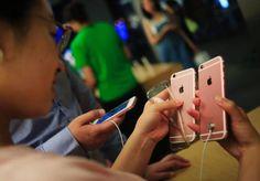 Apple dreigt uit top vijf in China te kukelen