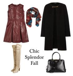"""Chic splendor"" by chic-splendor on Polyvore featuring Gucci, Gianvito Rossi, Burberry and Prada"