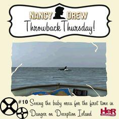 Throwback Thursday featuring Nancy Drew: Danger on Deception Island.  #NancyDrew #DDI #TBT