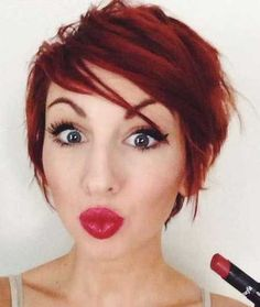 10 Short Red Pixie Cuts | The Best Short Hairstyles for Women 2015