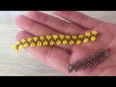 Beading Tutorials, Beading Patterns, Bead Jewellery, Beaded Jewelry, Kids Jewelry, Jewelry Making, Beaded Earrings, Beaded Bracelets, Seed Bead Crafts