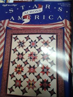 Author Eleanor Burns 120 pages A star for each of 12 famous American women.  Get your copy at Friendship Star Quilt Shop.