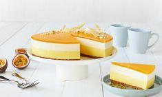 Passion-vanilja juustokakku Reseptit: Raikas juustokakku, jossa yhdistyvät passionhedelmä ja vanilja.- Paljon herkullisia reseptejä!