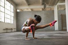 Gabby Douglas x Nike | Gabby is so strong! #gymnastics #gymnast