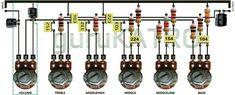 Hobby Electronics, Electronics Components, Electronics Projects, Electrical Components, Diy Guitar Pedal, Electronic Circuit Design, Hifi Amplifier, Electrical Circuit Diagram, Power Supply Circuit