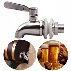 304 Stainless Steel Faucet Tap for Home Brew Barrel Fermenter Wine Beer Beverage Juice Dispenser Spigot Drink Fridge Kegs on Aliexpress.com | Alibaba Group