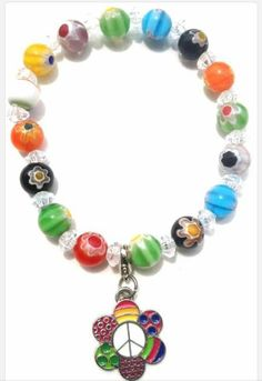 Simply Adorable. Order yours today. https://www.etsy.com/listing/216908555/love-peace-happiness-charm-bracelet