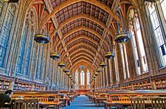 The silent reading room at Suzzallo Library, University of Washington.  My favorite place to study as an undergrad