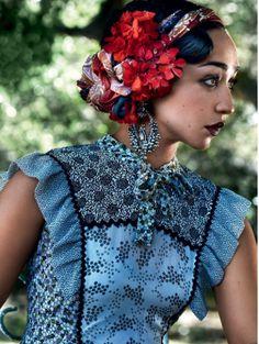 Ruth Negga and Joel Edgerton for Vogue
