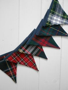 plaid bunting!!   US $10.61 in Home & Garden, Greeting Cards & Party Supply, Party Supplies