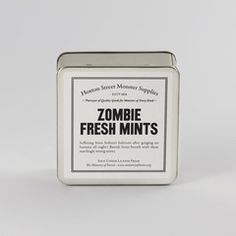 Zombie Fresh Mints and more at Hoxton Street Monster Supplies - gahhh! why don't they ship internationally?!
