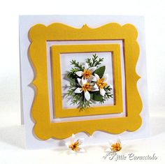 Framed Florida Orange Blossoms by kittie747 - Cards and Paper Crafts at Splitcoaststampers