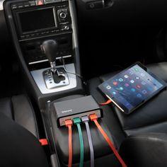 Wagan TravelCharge Quad USB Power Hub, 9.6A #tech #travel #car