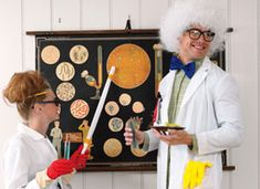Throw a Mad Scientist Halloween Party on Etsy