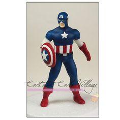 Captain America on Cake Central