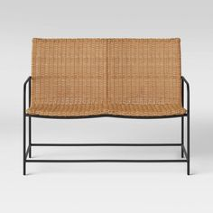Wexler Wicker Patio Loveseat Set - Natural - Project 62™ : Target