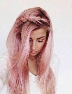 Dusty Rose Hair