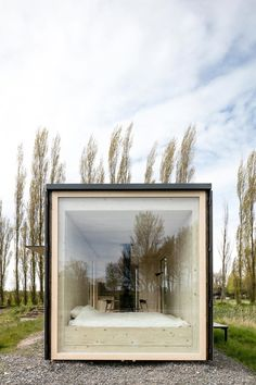 """Architecture students design the Ark Shelter with the aim of bringing the nature back Architects: Michiel De Backer, Jakub Senkowski, Martin Mikovčák Location: Bruges, Belgium Year: 2015 Area: 291 ft²/ 27 m² Photo courtesy: Thomas Debruyne Description: """"We are students of architecture, who put our heads together to rethink the way people live their fast and stressful lives. …"""