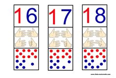 Compter sur les doigts Constellations, Counting To 20, Subitizing, Grande Section, All Schools, School Resources, Worksheets, Back To School, Activities For Kids