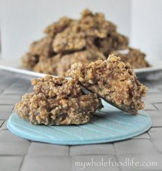 If you are gluten free and love coconut, you will love these cookies!  Made with no refined sugars and dangerously good!