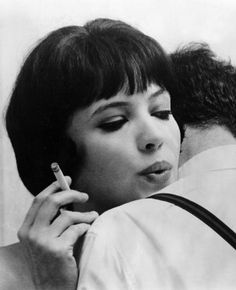 """The more one talks, the less the words mean"" Vivre sa vie [1962] - Jean Luc Godard"