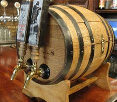 Whiskey Barrel Jockey Box - American Homebrewers Association