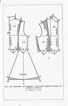 Все нужное под рукой: Выкройка и шитье костюма на фигурное катание