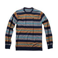 Element Wright Sweater - Indigo - MV014WRT | Element US