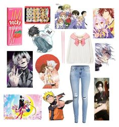 """Day of anime"" by narilovesyou on Polyvore"