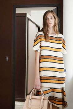 Chloé - Resort 2015 Trend Report: Tie-Dye, Psychedelic Florals, Midi Skirts, and More