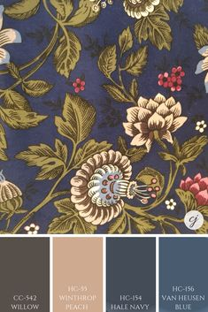 Trying to choos the next colour palette for your home? Check out these colour combinations with blues