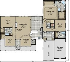 North Carolina Modular Home Floor Plans - Clarendon Cape Cod