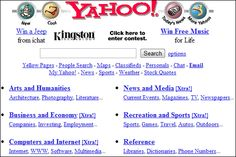 Google-Core: How did Google, Facebook, Twitter etc looked when they were launched